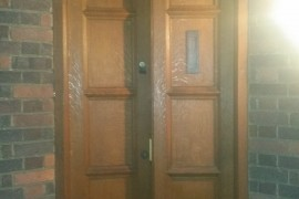 1930 Entrance door Restoration – Harpenden AL5