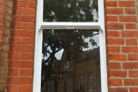 Sash window Restoration – London N5
