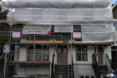 Exterior Renovation of a 3 storey Bloc of Flats
